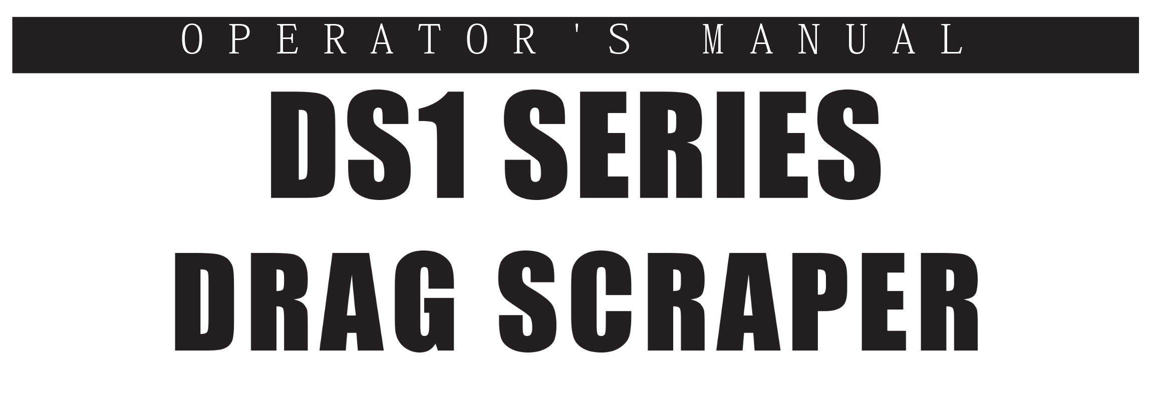 DS1 Series Owners Manual