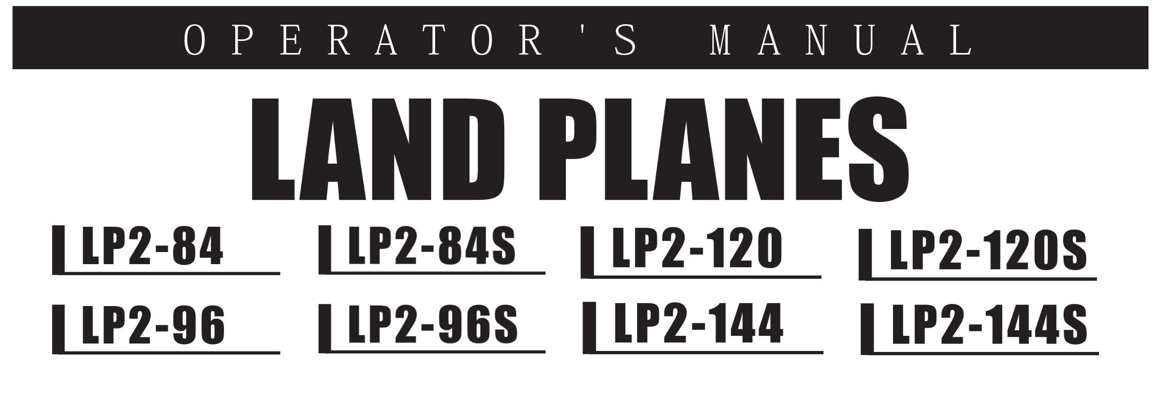 LP2 Series Owners Manual